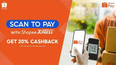 Shopee Scan to pay COD