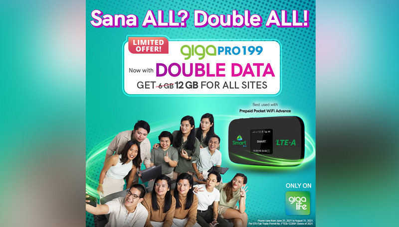 Double Data Giga Life