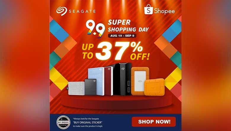 Seagate 99 Shopping Day